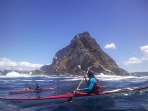 kayaking around Cape Point
