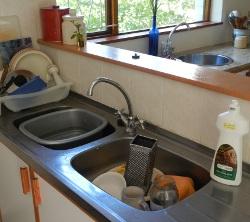 Save water use rinse water basins g 250