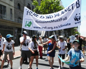 2015 CT climate March  with WWF