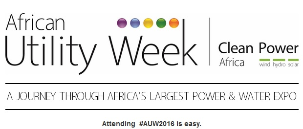 African Utility Week & Clean Power Africa 2016 banner