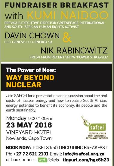 Earthkeeper anti nuclear fund raiser23 may