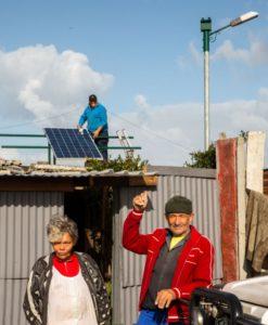 Zonke energy PV installation