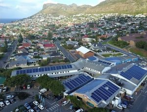 A Cape Town shopping centre Rooftop PV of 285kWs