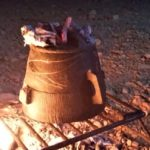 Soap stone cooking pot